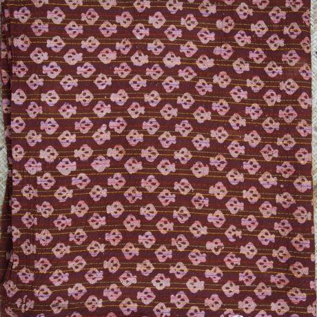 Chestnut Brown-Block-print-gojkapor